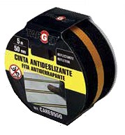 45368220  Cinta Antideslizante 50 mm. x 5 mts Reflectante