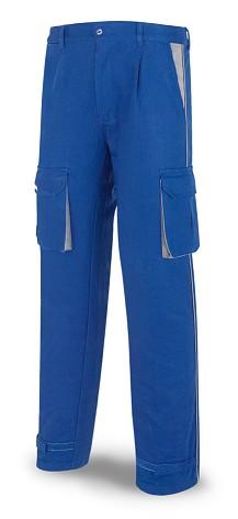 Pantalon algodon talla 42 azulina Marca SUPERTOP