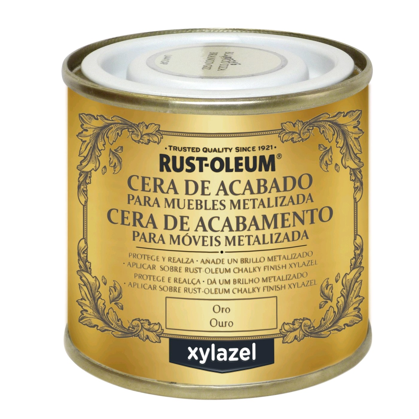 50989760  BRU Cera Chalky Finish Oro 125 ml.